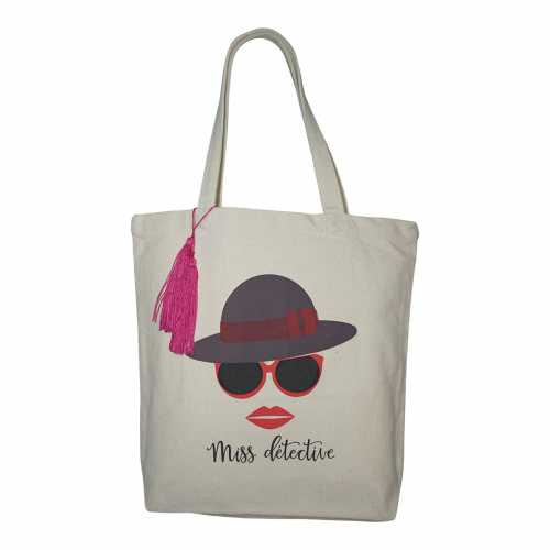 TOTE BAG MISS DETECTIVE
