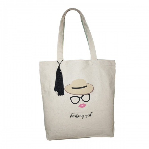 TOTE BAG WORKING GIRL